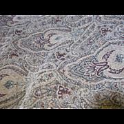 3 Yards Heavy Chenille Paisley Upholstery  Fabric
