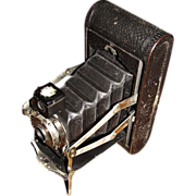 1908, Kodak No.1A Folding Pocket Kodak Automatic Camera