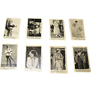 SALE 13 - Silent Movie Actor / Actress Trading Cards produced by American Caramel Company