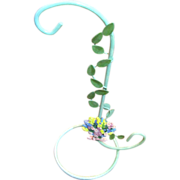 Prettiest Floral Motif Necklace or Bracelet Stand