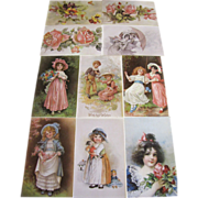 10 New Old Stock Vintage Post Cards by the Old Print Factory