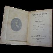 1902, Paradise Lost - books 1 & 2 by John Milton, Pocket Series