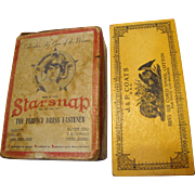 Art Deco Starsnap Dress Fastener Advertising Cardboard Box