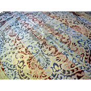 Victorian Woven Tapestry Table Throw or Piano Shawl, in Beautiful Lighter Shades!