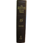 The International Inductive Study Bible, New American Standard Bible, Leather Bound