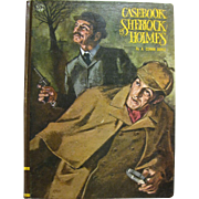 1968, Casebook of Sherlock Holmes by A. Conan Doyle, Educator Juvenile Classics, Illustrated