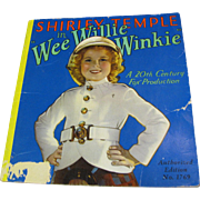 Shirley Temple in Wee Willie Winkie, A 20th Century Fox Production  ©1937