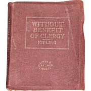 c 1920's, Without Benefit of Clergy & The Man Who Would be King by Rudyard ...