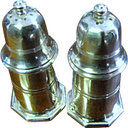 Christofle Vintage French Silver Plated Salt and Pepper Shakers (up to 2 sets available)