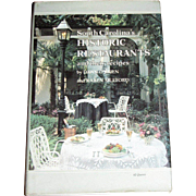 South Carolina's Historic Restaurants Recipes by O'Brien & Mulford HCDJ 1984 1st Edition