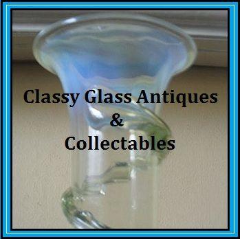 Thomas Webb, English Victorian Uranium Vaseline Glass Vase.  AMAZING!