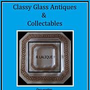 SALE PENDING Paquerettes, R Lalique. Circa 1935. Model No.10-3029. Signed Original