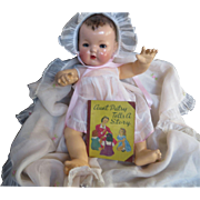 """Vintage RARE 1938 Effanbee Dy-Dee Doll """" Patsy Tells a Story Book"""""""