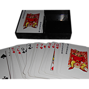 SALE KEM Paisley Double Deck Playing Cards