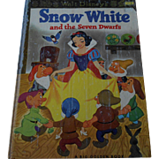 1952 Snow White and the Seven Dwarfs Big Golden Book