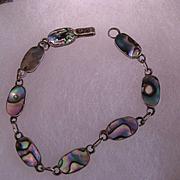 Taxco Abalone Link Bracelet