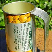 SALE $ALE: Minute Maid Frozen Orange Juice tin - with Handle - Vintage