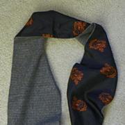 "SALE SALE: Pucci Candida Praecordia Scarf - Silk & Wool Reversible 52"" long"