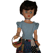 """REDUCED 24"""" Revlon Style Doll Wearing Ketty Dalsgaard Jewelry"""