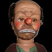 """20"""" Emmett Kelly  Weary Willie Hobo Clown Doll"""