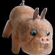 Windup Pig Tin Toy