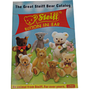 REDUCED The Great Steiff Bear Catalog - Free Shipping