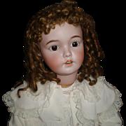 "SALE Antique 30"" Santa Doll By Simon & Halbig"