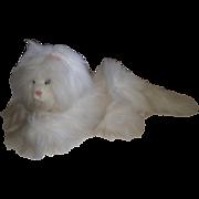 1986 Persian White Krystal Kitty Cat By Dakin