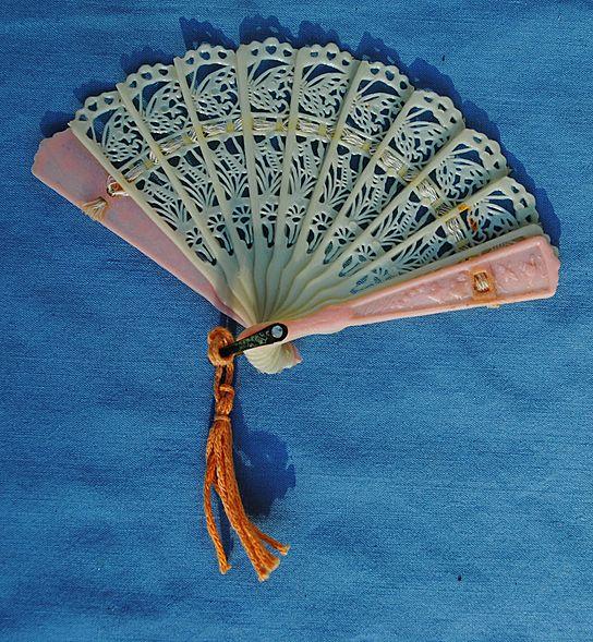 Miniature Lacy Fan...Circa 1940