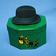 Dobbs Fifth Avenue Hatbox and Hat
