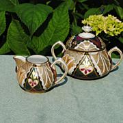 Alhambra Creamer And Sugar.....Beautiful Pattern