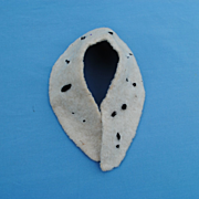 Faux Ermine Collar or Shawl For A Lady or Bebe