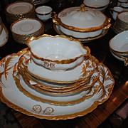 Beautiful Circa 1890-1910 Fine Porcelain Dinner Service...150 pieces