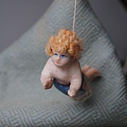 Wonderful Wax Christmas Angel...In Original Box....Premier Example
