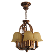 Vintage 5 Slip Shade Lighting Fixture by Riddle - Preview