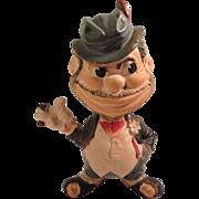 "SALE 1949 Rempel ""Ho Jo the Bo"" Rubber Squeak Toy Brooklyn Dogers Mascot"