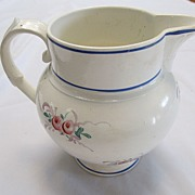 SALE 19th Century French Faience Pitcher