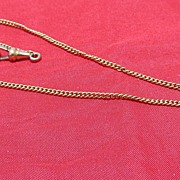 SALE Gold Filled Pocket Watch Chain
