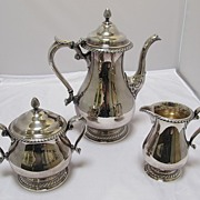 Gorham Silver Plated Coffee Service