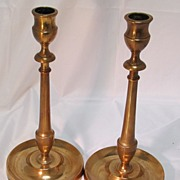 Rare Copper Candlesticks