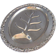 SALE Silver Plated Platter
