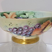 Bavarian Hand Decorated Punch Bowl