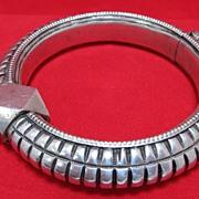 SOLD India Silver Bangle Bracelet
