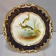 SALE George Jones Porcelain Cabinet Plate