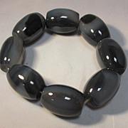 Shadow Agate Bracelet