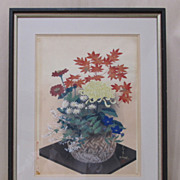 Woodblock Print by Ohno Japanese
