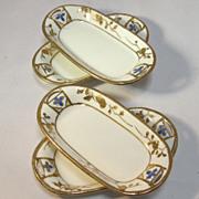 Four Nippon Salts Porcelain