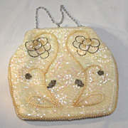 SALE Sequin Beaded Hand Bag