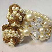 SALE Faux Pearl Bracelet