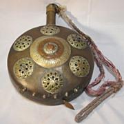 SALE Vintage Brass Canteen Optimus